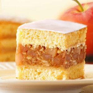 Jabłecznik - Polish Apple Sponge Cake
