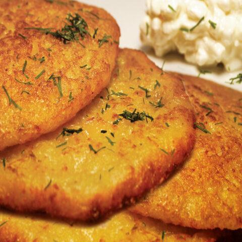 Placki ziemniaczane: Polish Potato Pancakes