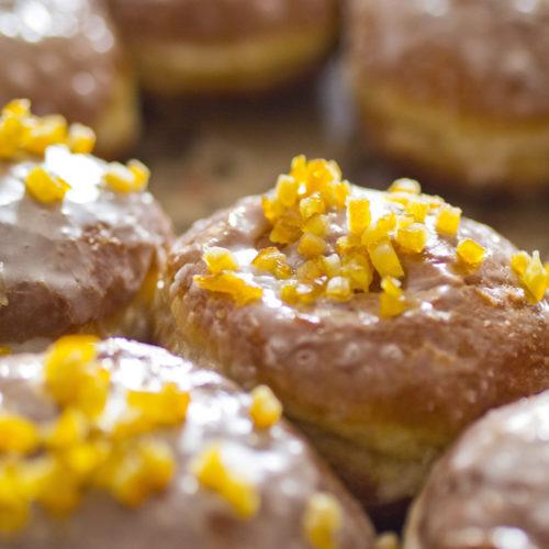 Pączki (Polish donut) recipe
