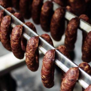 Polish kiełbasa sausage