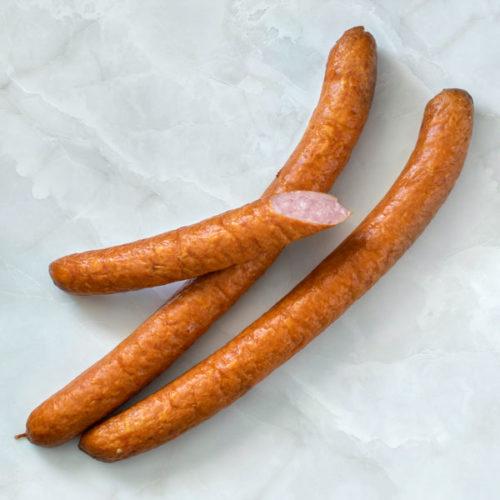 Polish 'podwawelska' kiełbasa sausage