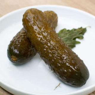 Polish Dill Pickles in Brine