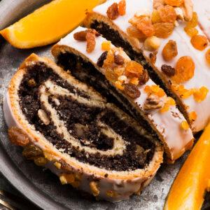 Polish recipe idea for dessert: Poppy Seed Roll 'Makowiec'