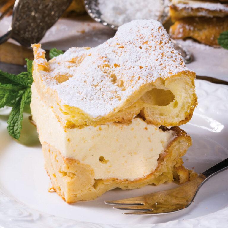 Karpatka: Carpathian Cream Cake