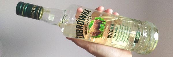żubrówka Polish Bison Grass Vodka