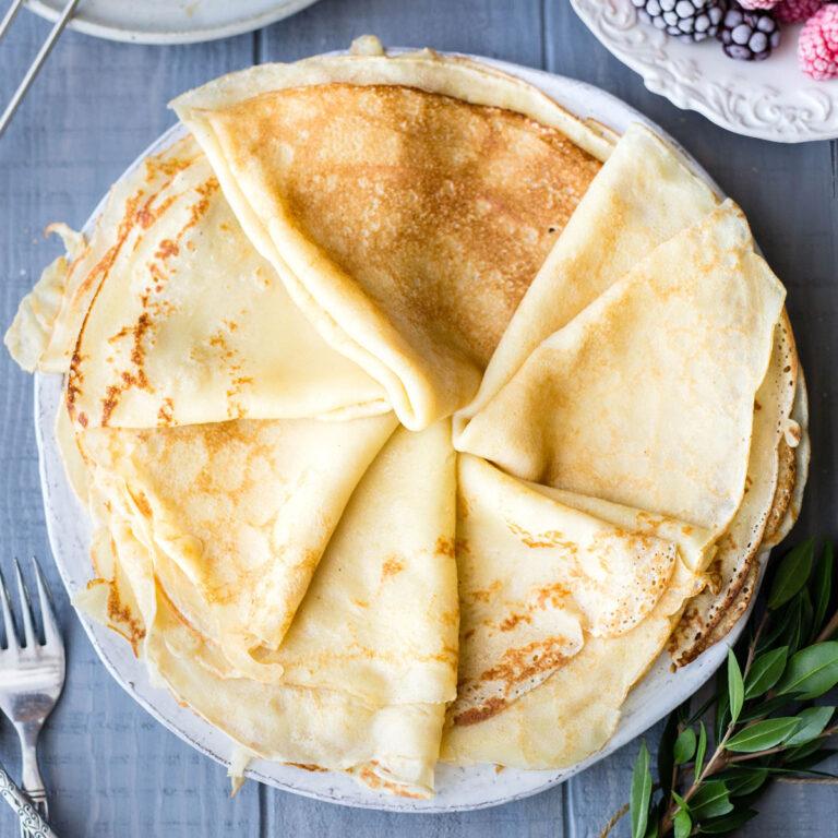 Naleśniki: Polish Pancakes (Crêpes)