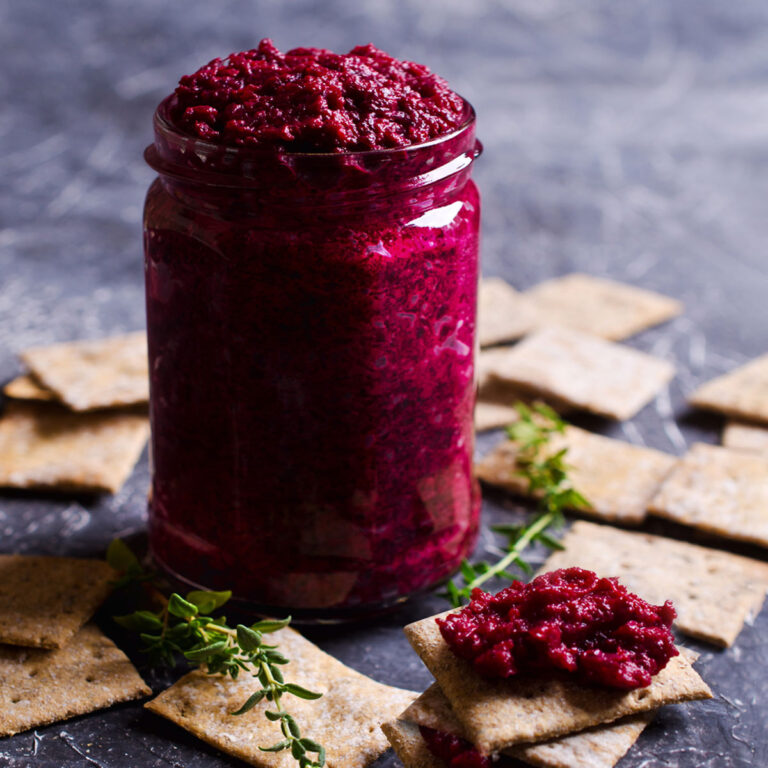 Homemade Ćwikła: Beet Horseradish
