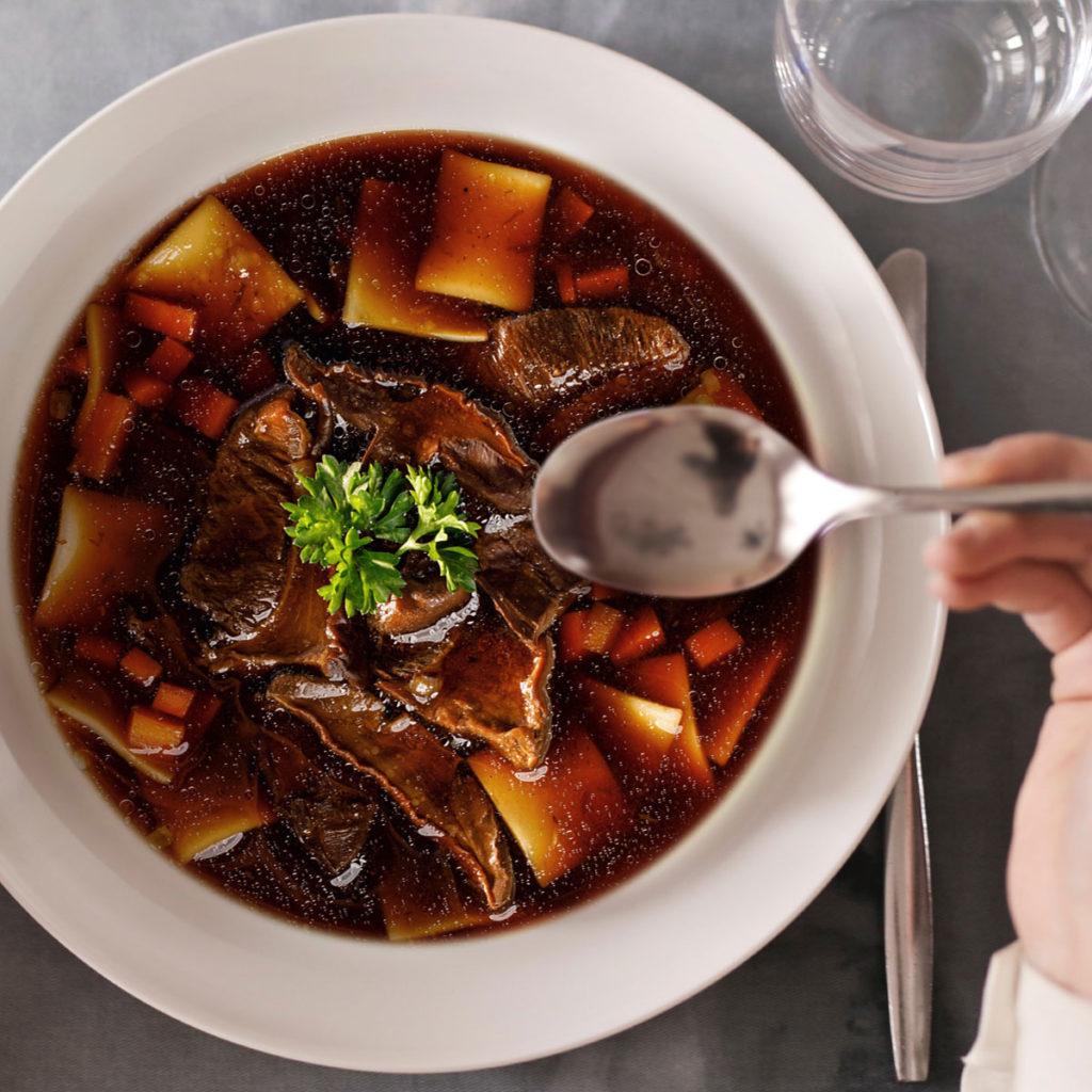Polish Mushroom Soup for Christmas