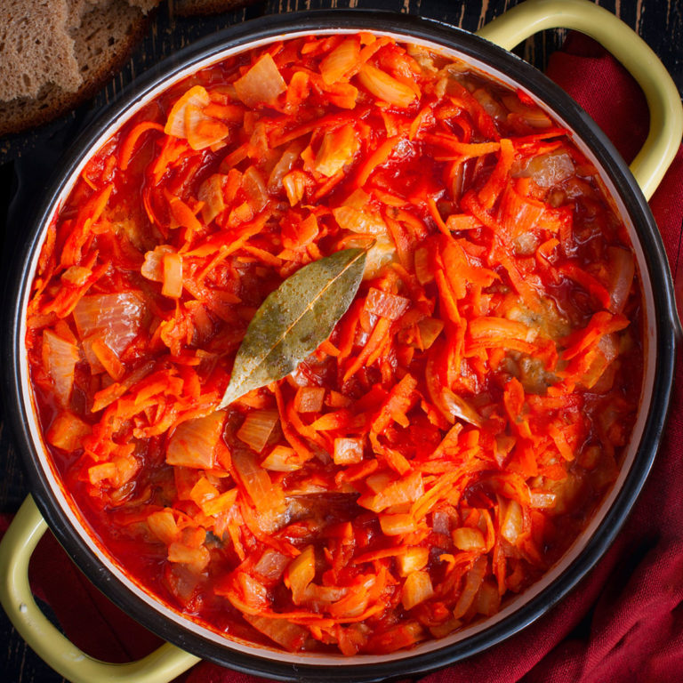 Ryba po Grecku: Fried Cod in Tomato Sauce (Communist-style)