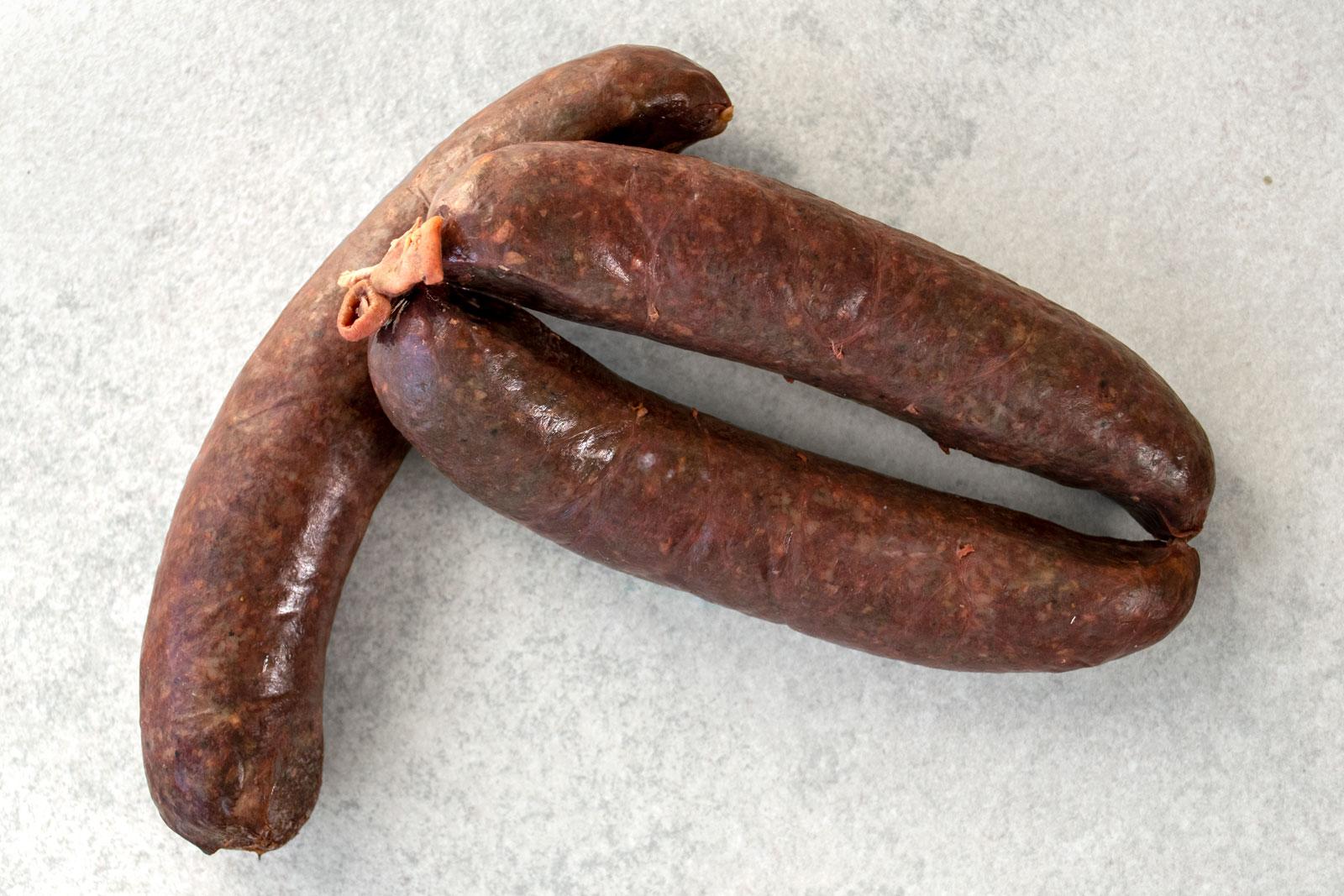 Kaszanka (Polish blood sausage, Buckwheat kishka)