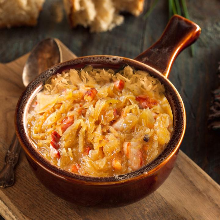 braised sauerkraut
