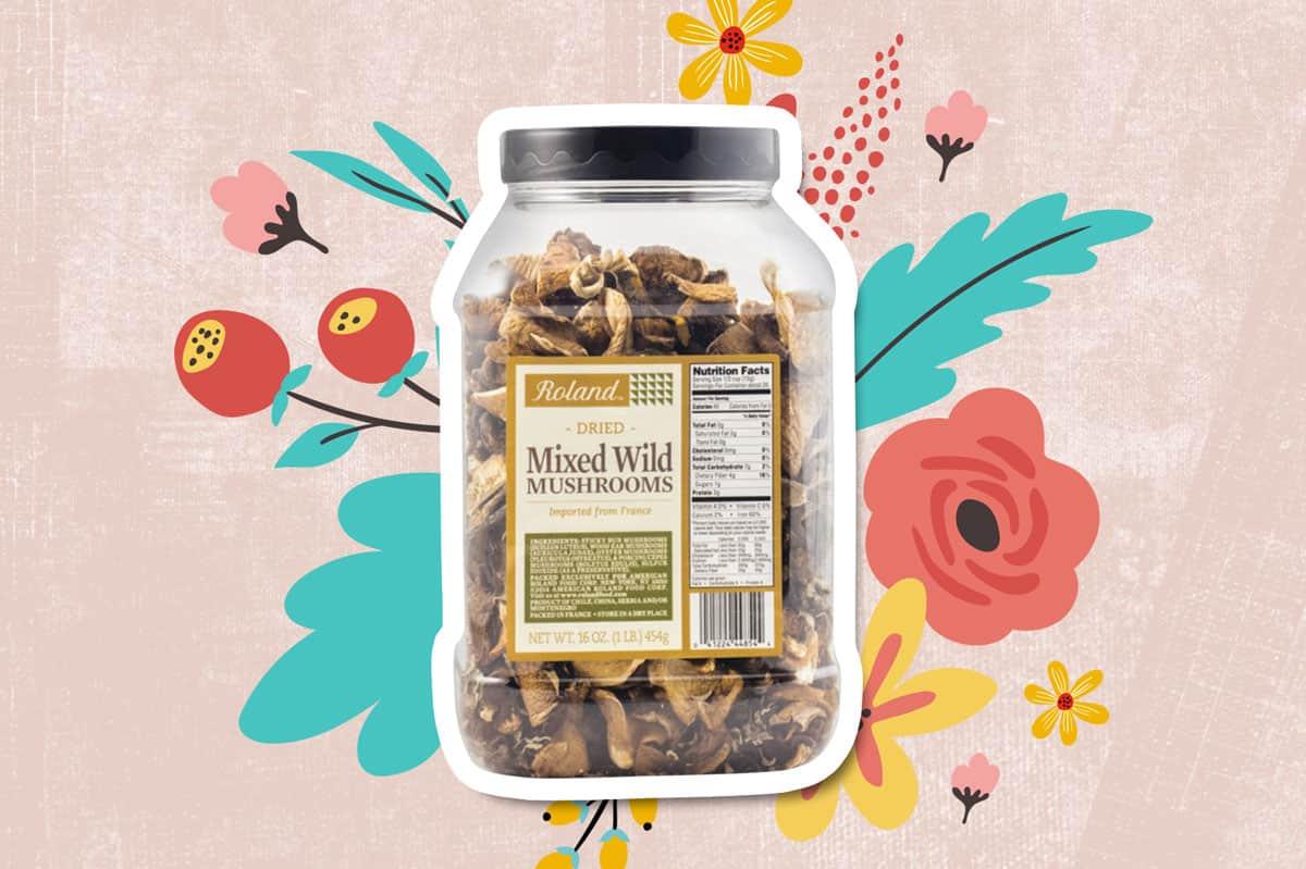 dried wild mushroom mix