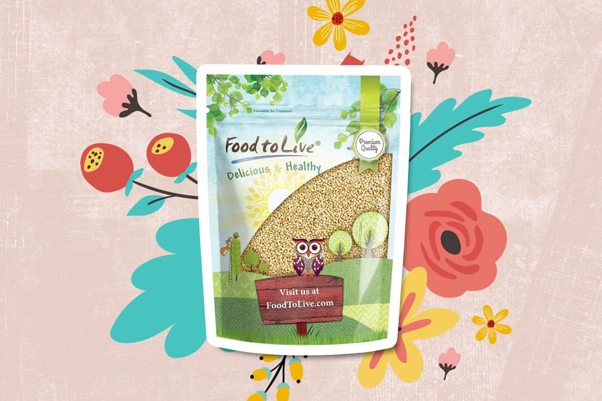 Buckwheat groats by Food to live