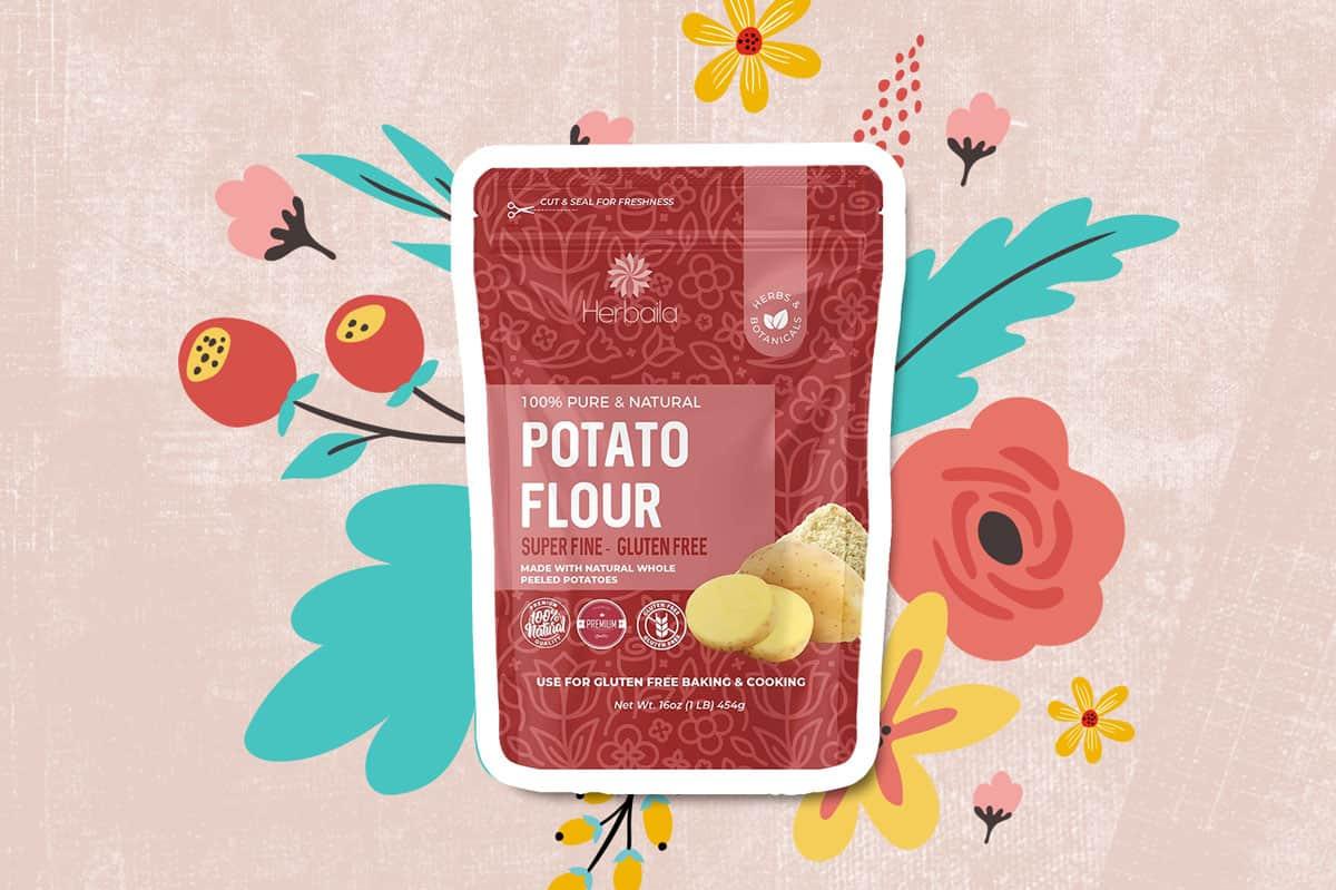 Potato Flour by Herbala