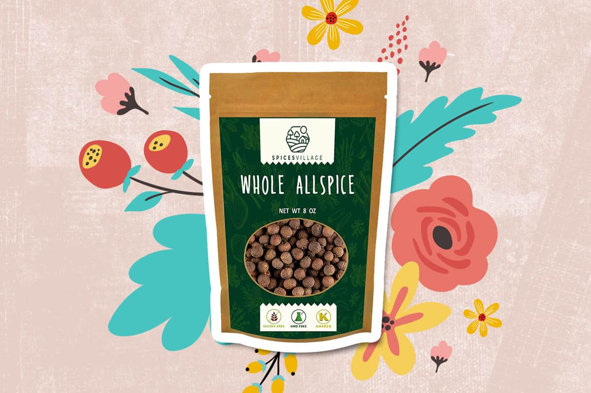 Whole Allspice berries by Spices Village